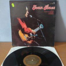 Disques de vinyle: JOAN BAEZ - A PACKAGE OF JOAN BAEZ. Lote 250225060