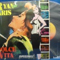 Discos de vinilo: RYAN PARIS - DOLCE VITA - SUPERSINGLE - CBS 1983. Lote 250252205