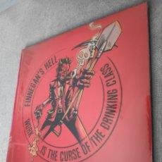 Discos de vinilo: ÁLBUM LP DISCO VINILO FINNENGAN'S HELL WORK IS THE CURSE OF THE DRINKING CLASS NUEVO. Lote 250291575