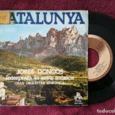 Discos de vinilo: JORDI DONCOS GRAN ORQUESTRA SIMFONICA - CATALUNYA MALLORCA (PHONIC) SINGLE. Lote 250298615