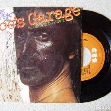 Discos de vinilo: FRANK ZAPPA.JOE´S GARAGE (EL GARAGE DE JORGE) + 1...E+. Lote 250311210