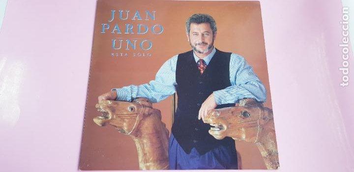 Discos de vinilo: LP-JUAN PARDO-UNO ESTÁ SOLO-1990-VER FOTOS - Foto 4 - 250313735