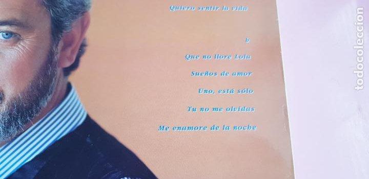 Discos de vinilo: LP-JUAN PARDO-UNO ESTÁ SOLO-1990-VER FOTOS - Foto 8 - 250313735