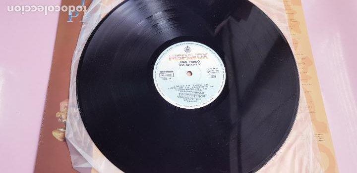 Discos de vinilo: LP-JUAN PARDO-UNO ESTÁ SOLO-1990-VER FOTOS - Foto 13 - 250313735