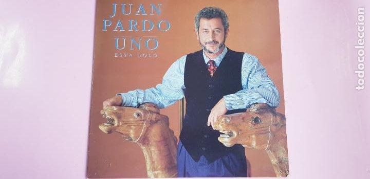 Discos de vinilo: LP-JUAN PARDO-UNO ESTÁ SOLO-1990-VER FOTOS - Foto 2 - 250313735