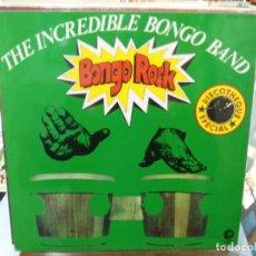 Disques de vinyle: BONGO ROCK - THE INCREDIBLE BONGO BAND - LP. SELLO MGM RECORDS 1973. Lote 250315095