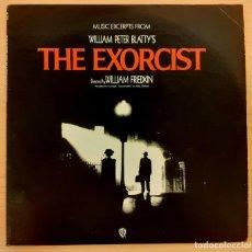 Discos de vinilo: THE EXORCIST (EL EXORCISTA) PENDERECKI, MIKE OLDFIELD ORIGINAL WARNER BROS. USA 1974 COMO NUEVO!!. Lote 250320695
