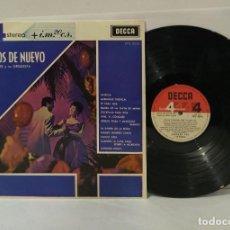 Discos de vinilo: BAILEMOS DE NUEVO EDMUNDO ROS LP 1967 PHASE 4. Lote 250338945