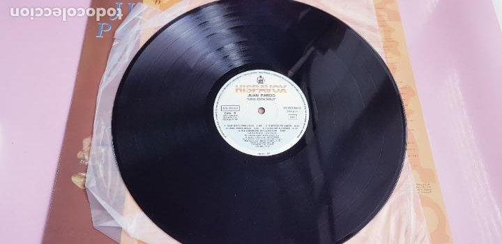 Discos de vinilo: LP-JUAN PARDO-UNO ESTÁ SOLO-1990-VER FOTOS - Foto 23 - 250313735