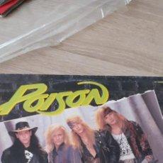 Discos de vinilo: POISON UNSKINNY BOP MAXI 4 TEMAS. Lote 251008220
