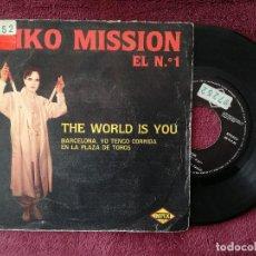 Discos de vinil: MIKO MISSION - THE WORLD IS YOU (MAX) SINGLE. Lote 251008840