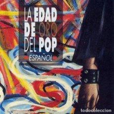Dischi in vinile: LA EDAD DE ORO DEL POP ESPAÑOL 3LP RECOPILATORIO 1992 COMPLETO. Lote 251010705
