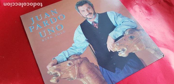 LP-JUAN PARDO-UNO ESTÁ SOLO-1990-VER FOTOS (Música - Discos - LP Vinilo - Pop - Rock - Internacional de los 70)