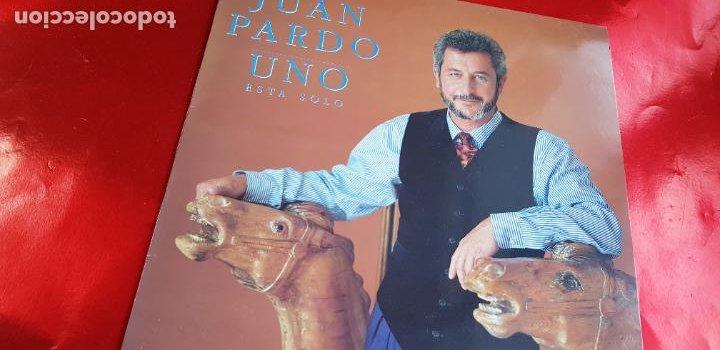 Discos de vinilo: LP-JUAN PARDO-UNO ESTÁ SOLO-1990-VER FOTOS - Foto 3 - 250313735