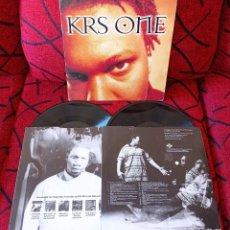 Disques de vinyle: KRS ONE DOBLE VINILO LP EDICION UK 1995. Lote 251028760