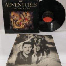 Discos de vinilo: THE ADVENTURES THE SEA OF LOVE LP 1988 + ENCARTE. Lote 251033405