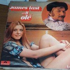 Discos de vinilo: *JAMES LAST - ... Y OLÉ - DOBLE LP AÑO 1972 - PORTADA DOBLE - LEER DESCRIPCIÓN. Lote 251034795