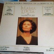 Discos de vinilo: *MAMA LUCIA (BANDA SONORA ORIGINAL DE LA SERIE TV) - LP AÑO 1988 - LEER DESCRIPCIÓN. Lote 251040790