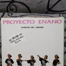 Discos de vinilo: ON D BASS - PROYECTO ENANO. Lote 251055455