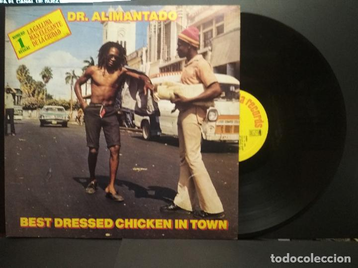 DR. ALIMANTADO - BEST DRESSED CHICKEN IN TOWN, LP 1980 ESPAÑA. PEPETO (Música - Discos - LP Vinilo - Reggae - Ska)