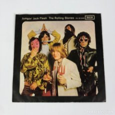 "Discos de vinilo: SINGLE 7"" EN VINILO THE ROLLING STONES. JUMPIN' JACK FLASH (GERMANY, 1968). Lote 251089125"