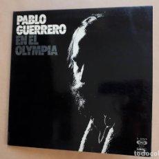 Discos de vinilo: PABLO GUERRERO - EN EL OLYMPIA - MOVIEPLAY - GATEFOLD - 1975 - VG/VG+. Lote 251089605