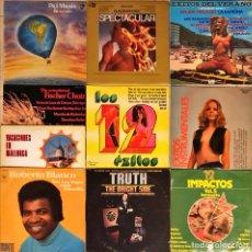 Discos de vinilo: LOTE 10 LP'S ORQUESTAS. Lote 251102810
