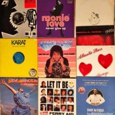 Discos de vinilo: LOTE 10 MAXI SINGLES VARIADO 80'S 90'S. Lote 251103795