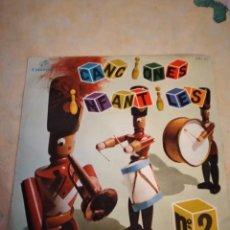 Discos de vinilo: CANCIONES INFANTILES Nº 2. ESPAÑA 1964. Lote 251108910
