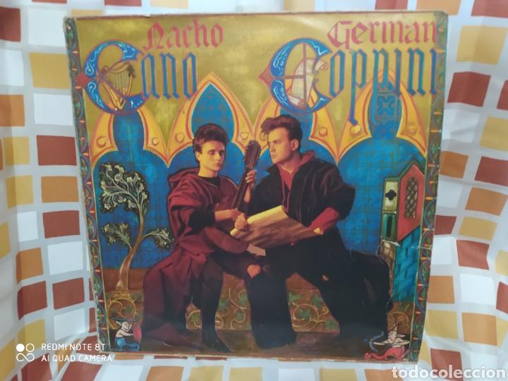 NACHO CANOYGERMÁN COPPINI -DAME UN CHUPITO DE AMOR. MAXI VINILO 1986. ARIOLA EURODISC S.A. (Música - Discos de Vinilo - Maxi Singles - Grupos Españoles de los 70 y 80)
