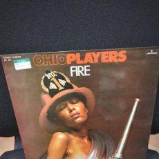 Discos de vinilo: OHIO PLAYERS FIRE. LP MERCURY 1975.. Lote 251154845