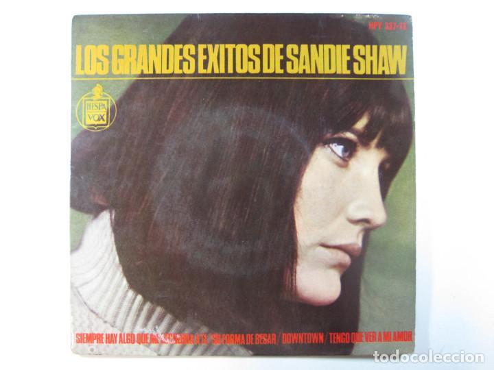 EP SANDIE SHAW, LOS GRANDES ÉXITOS DE · SIEMPRE HAY ALGO QUE ME RECUERDA A TÍ + 3 (1965) (RARO) (Música - Discos de Vinilo - EPs - Cantautores Internacionales)