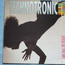 Disques de vinyle: TECHNOTRONIC,PUMP UP THE JAM EDICION ESPAÑOLA DEL 89. Lote 251165950