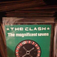 Discos de vinil: THE CLASH / THE MAGNIFICENT SEVEN / EDICIÓN FRANCESA / CBS 1981. Lote 251179740
