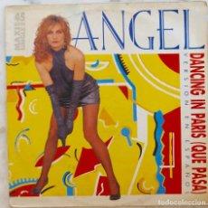 Discos de vinil: ANGEL. DANCING IN PARIS ( QUE PASA ). EN ESPAÑOL. MAXISINGLE ESPAÑA 3 TEMAS. Lote 251187830