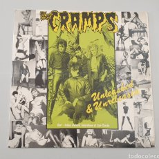 Discos de vinilo: LP - THE CRAMPS - UNLEASHED & UNRELEASED - RARE CRAMPS ITEM!!. Lote 251198665