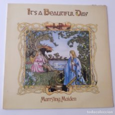 Disques de vinyle: IT´S BEAUTIFUL DAY- MARRYING MAIDEN - SPAIN LP 1981 - VINILO COMO NUEVO.. Lote 251218760