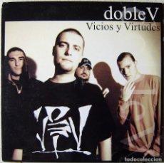 Discos de vinilo: DOBLE V.VICIOS Y VIRTUDES (VIOLADORES DEL VERSO) EDICION ORIGINAL 2001. LP DOBLE VINILOS COMO NUEVOS. Lote 251225460