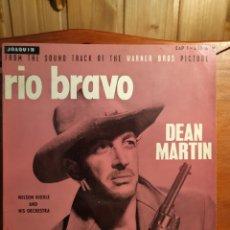Discos de vinilo: ANTIGUO DISCO DE VINILO, RÍO BRAVO DE DEAN MARTIN EDICIÓN FRANCESA VER FOTOS. Lote 251238080