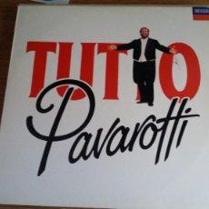 Discos de vinilo: *TUTTO PAVAROTTI - DOBLE LP AÑO 1989 - LEER DESCRIPCIÓN. Lote 251242710