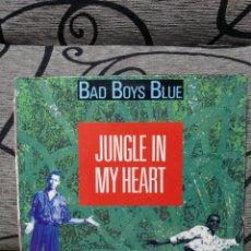 Discos de vinilo: BAD BOYS BLUE - JUNGLE IN MY HEART. Lote 251253335