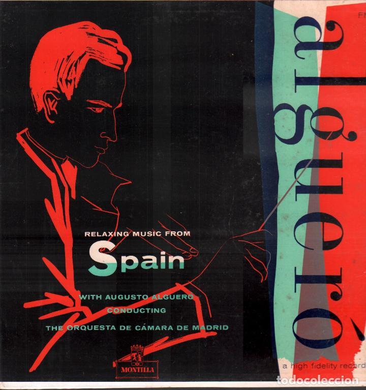 ALGUERÓ - RELAXING MUSIC FROM SPAIN / LP MONTILLA / BUEN ESTADO RF-9380 (Música - Discos - LP Vinilo - Orquestas)