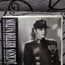 Discos de vinilo: JANET JACKSON - RHYTHM NATION. Lote 251257385