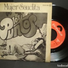 Discos de vinilo: LOS PUNTOS: MUJER SAUDITA / ORIENTAL ( SINGLE POLYDOR 1977) PEPETO. Lote 251268135