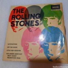 Discos de vinilo: THE ROLLING STONES - SATISFACTION + 3. Lote 289351118