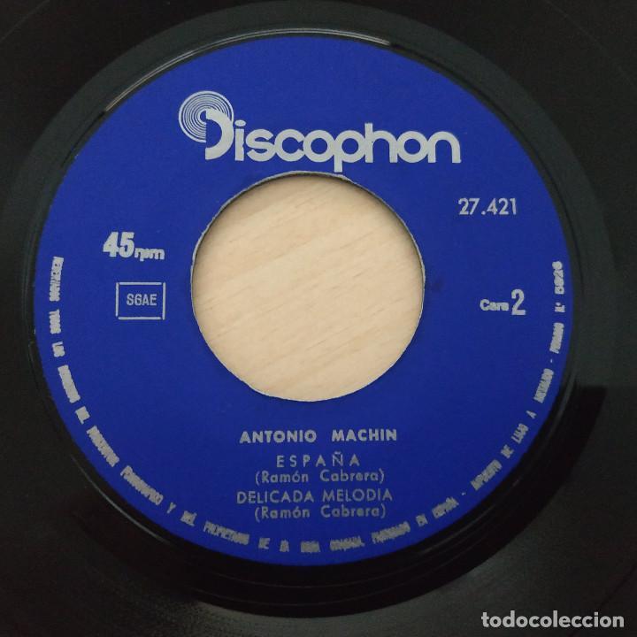 Discos de vinilo: ANTONIO MACHIN - MADRECITA - ESPAÑA - POR TU VOZ - DELICADA MELODIA - EP DISCOPHON 1965 BUEN ESTADO - Foto 4 - 251275785