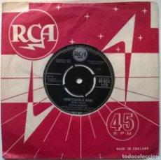 Disques de vinyle: LENA HORNE. HONEYSUCKLE ROSE/ A NEW FANGLED TANGO. RCA, UK 1957 SINGLE. Lote 251278055