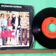 Discos de vinilo: TITANIC . RICHMOND EXPRESS.1973 . LIMPIO, TRATADO CON ALCOHOL ISOPROPÍLICO.AZ. Lote 251302730