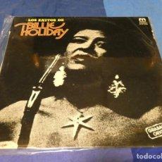 Discos de vinilo: LP ESPAÑA 1976 MUY BUEN ESTADO GENERAL LOS EXITOS DE BILLIE HOLIDAY. Lote 251316065