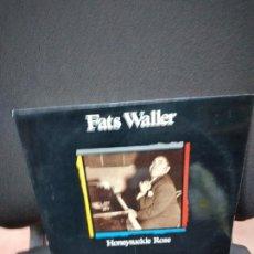 Discos de vinilo: FATS WALLER - HONEYSUCKLE ROSE / 1934 - 1936 - LP - BCD 1990 JAZZ. Lote 251320295